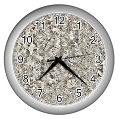 Granite 0577 Wall Clock (silver)