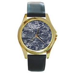 Granite 0596 Round Gold Metal Watch