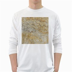 Granite 0223 White Long Sleeve T Shirts