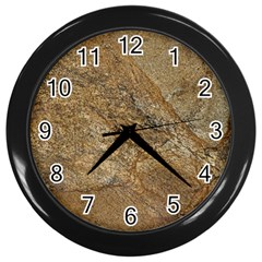 Granite 0224 Wall Clock (black)