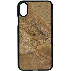 Granite 0224 Apple Iphone X Seamless Case (black)
