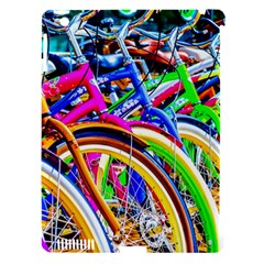 Colorful Bicycles In A Row Apple Ipad 3/4 Hardshell Case (compatible With Smart Cover) by FunnyCow