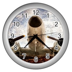 Legend Of The Sky Wall Clock (silver)