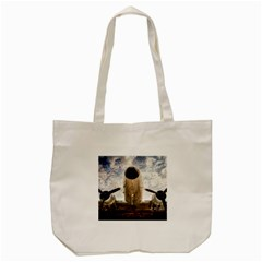 Legend Of The Sky Tote Bag (cream) by FunnyCow