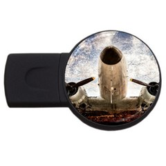 Legend Of The Sky Usb Flash Drive Round (4 Gb) by FunnyCow