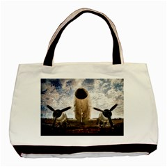 Legend Of The Sky Basic Tote Bag (two Sides)