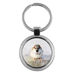 Do Not Mess With Sparrows Key Chains (round)