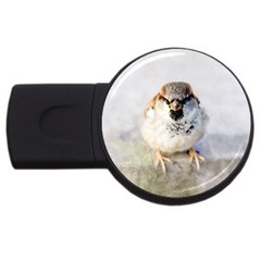 Do Not Mess With Sparrows Usb Flash Drive Round (2 Gb)