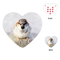 Do Not Mess With Sparrows Playing Cards (heart)
