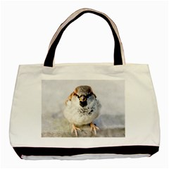 Do Not Mess With Sparrows Basic Tote Bag