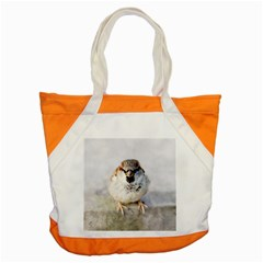 Do Not Mess With Sparrows Accent Tote Bag
