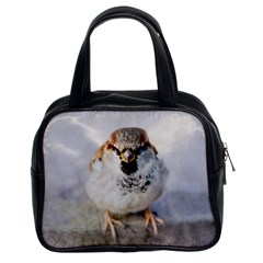 Do Not Mess With Sparrows Classic Handbags (2 Sides)
