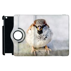 Do Not Mess With Sparrows Apple Ipad 3/4 Flip 360 Case by FunnyCow