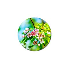 Crab Apple Flowers Golf Ball Marker (10 Pack)