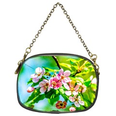 Crab Apple Flowers Chain Purses (two Sides)
