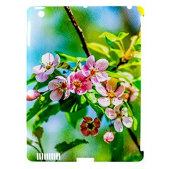 Crab Apple Flowers Apple Ipad 3/4 Hardshell Case (compatible With Smart Cover) by FunnyCow