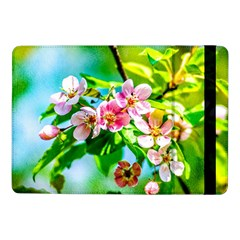 Crab Apple Flowers Samsung Galaxy Tab Pro 10 1  Flip Case by FunnyCow