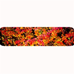 Orange, Yellow Cotoneaster Leaves In Autumn Large Bar Mats by FunnyCow