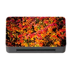 Orange, Yellow Cotoneaster Leaves In Autumn Memory Card Reader With Cf by FunnyCow