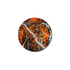 Red Night Of Winter Golf Ball Marker (10 Pack)