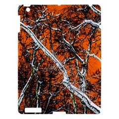 Red Night Of Winter Apple Ipad 3/4 Hardshell Case by FunnyCow