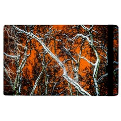 Red Night Of Winter Apple Ipad 2 Flip Case by FunnyCow