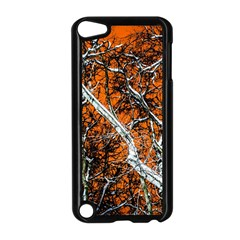 Red Night Of Winter Apple Ipod Touch 5 Case (black) by FunnyCow