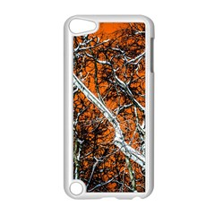 Red Night Of Winter Apple Ipod Touch 5 Case (white) by FunnyCow