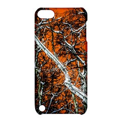 Red Night Of Winter Apple Ipod Touch 5 Hardshell Case With Stand by FunnyCow