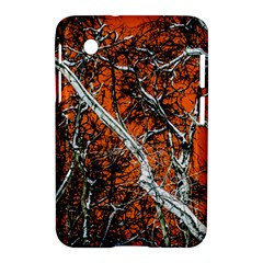 Red Night Of Winter Samsung Galaxy Tab 2 (7 ) P3100 Hardshell Case  by FunnyCow
