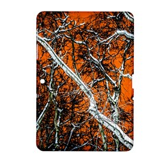 Red Night Of Winter Samsung Galaxy Tab 2 (10 1 ) P5100 Hardshell Case  by FunnyCow