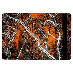 Red Night Of Winter Ipad Air 2 Flip by FunnyCow
