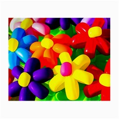 Toy Balloon Flowers Small Glasses Cloth