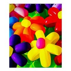 Toy Balloon Flowers Shower Curtain 60  X 72  (medium)
