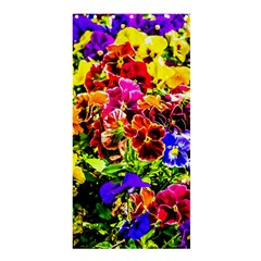 Viola Tricolor Flowers Shower Curtain 36  X 72  (stall)
