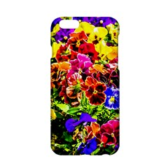 Viola Tricolor Flowers Apple Iphone 6/6s Hardshell Case