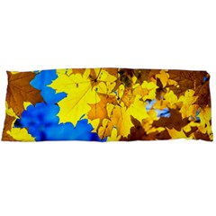 Yellow Maple Leaves Body Pillow Case Dakimakura (two Sides) by FunnyCow