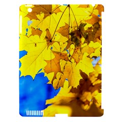 Yellow Maple Leaves Apple Ipad 3/4 Hardshell Case (compatible With Smart Cover) by FunnyCow