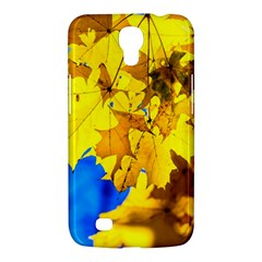 Yellow Maple Leaves Samsung Galaxy Mega 6 3  I9200 Hardshell Case by FunnyCow