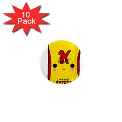 Kawaii Cute Tennants Lager Can 1  Mini Magnet (10 Pack)