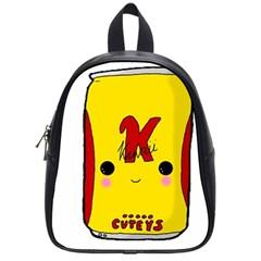 Kawaii Cute Tennants Lager Can School Bag (small)