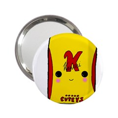 Kawaii Cute Tennants Lager Can 2 25  Handbag Mirrors