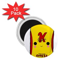 Kawaii Cute Tennants Lager Can 1 75  Magnets (10 Pack)