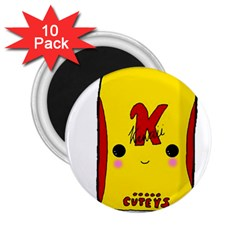 Kawaii Cute Tennants Lager Can 2 25  Magnets (10 Pack)