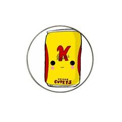 Kawaii Cute Tennants Lager Can Hat Clip Ball Marker (4 Pack)