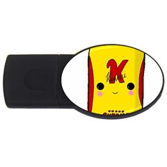 Kawaii Cute Tennants Lager Can Usb Flash Drive Oval (4 Gb)