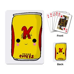 Kawaii Cute Tennants Lager Can Playing Card