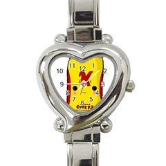 Kawaii Cute Tennants Lager Can Heart Italian Charm Watch
