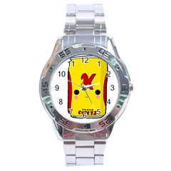 Kawaii Cute Tennants Lager Can Stainless Steel Analogue Watch