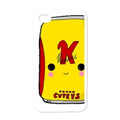 Kawaii Cute Tennants Lager Can Apple Iphone 4 Case (white)